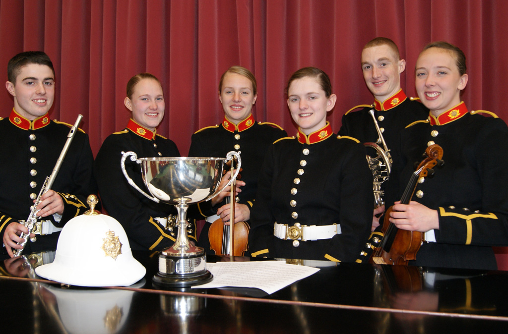 Royal Marines School of Music Young Musician of the Year Competition.