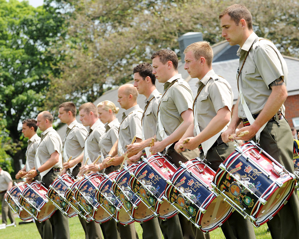 Mass Bands of the Royal Marine Band Service