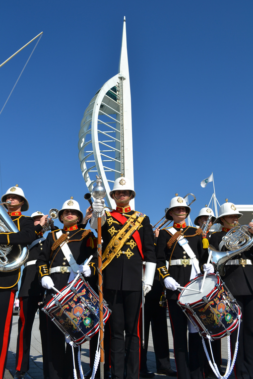 Free military spectacular for Gunwharf shoppers