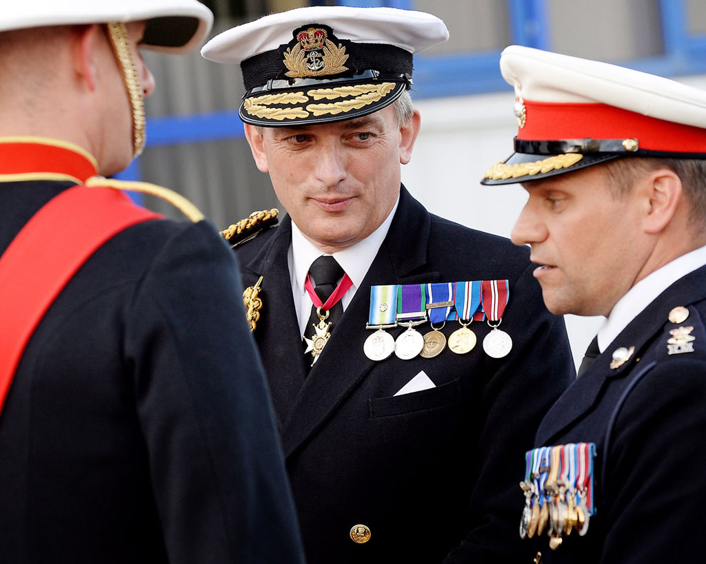 New home for Royal Marines Reservists in Scotland is formally opened