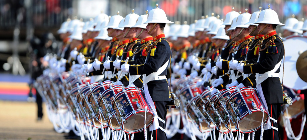Largest ever Beating Retreat