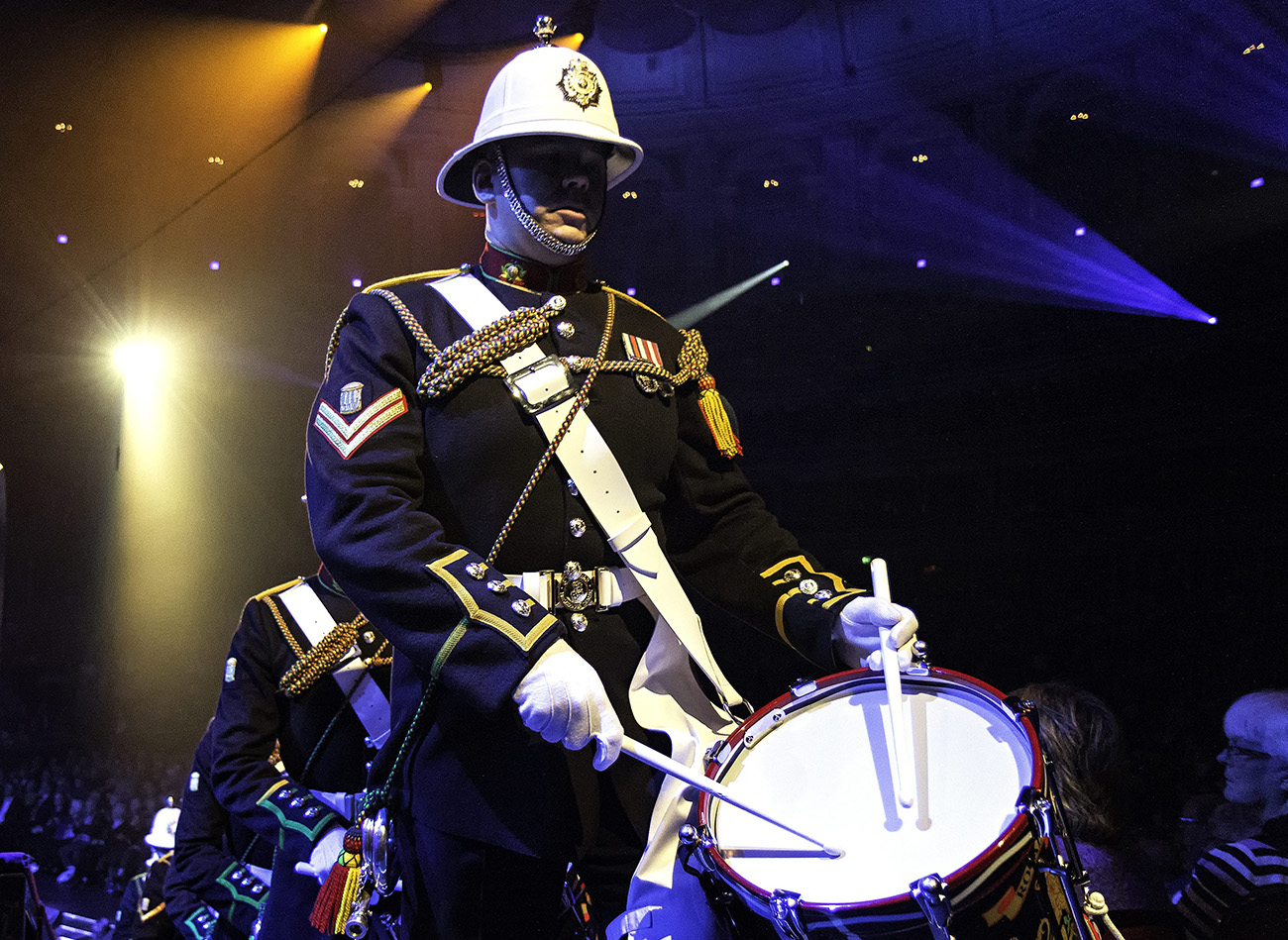 Top military musicians to stream concert live across the world