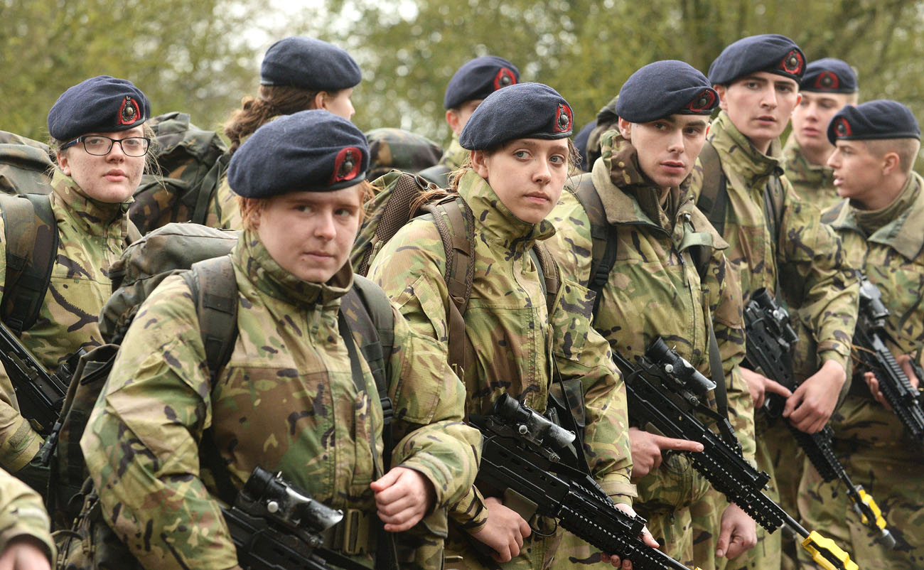 Royal Marines Band recruits complete Initial Military Training