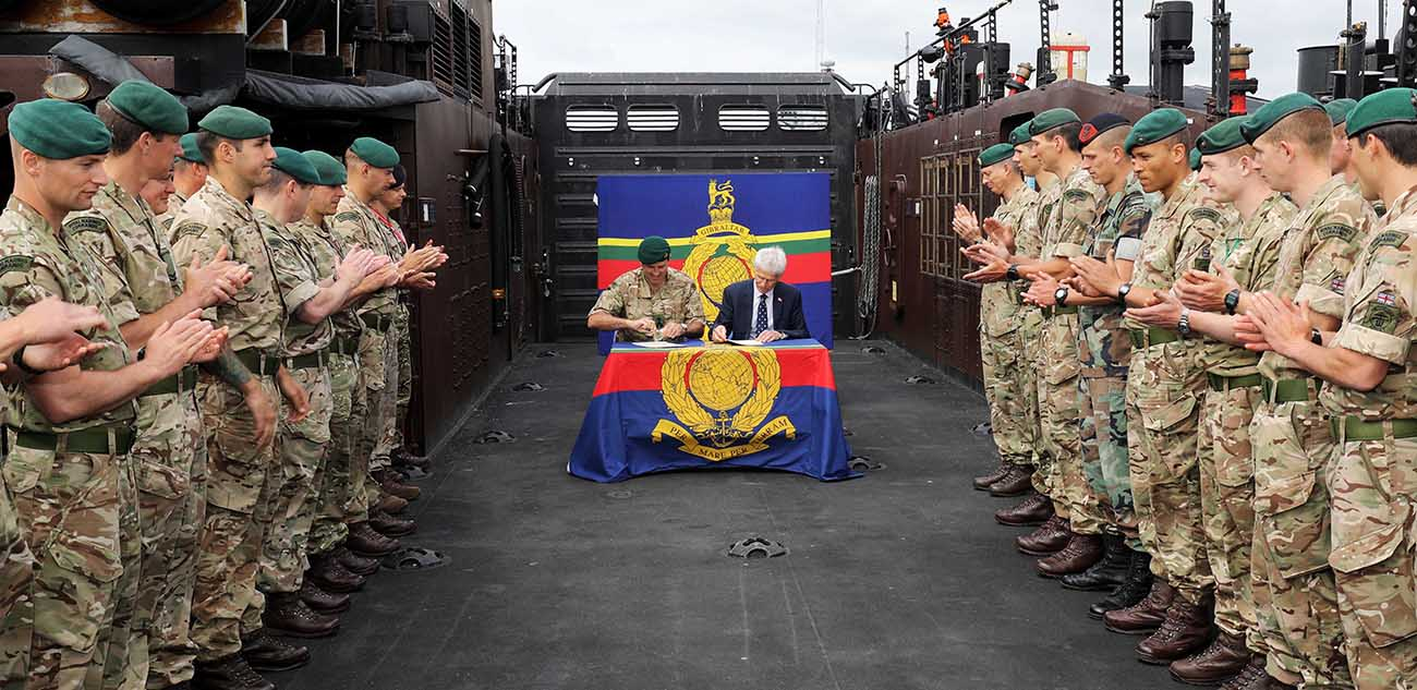 Royal Marines and Coastguard share skills
