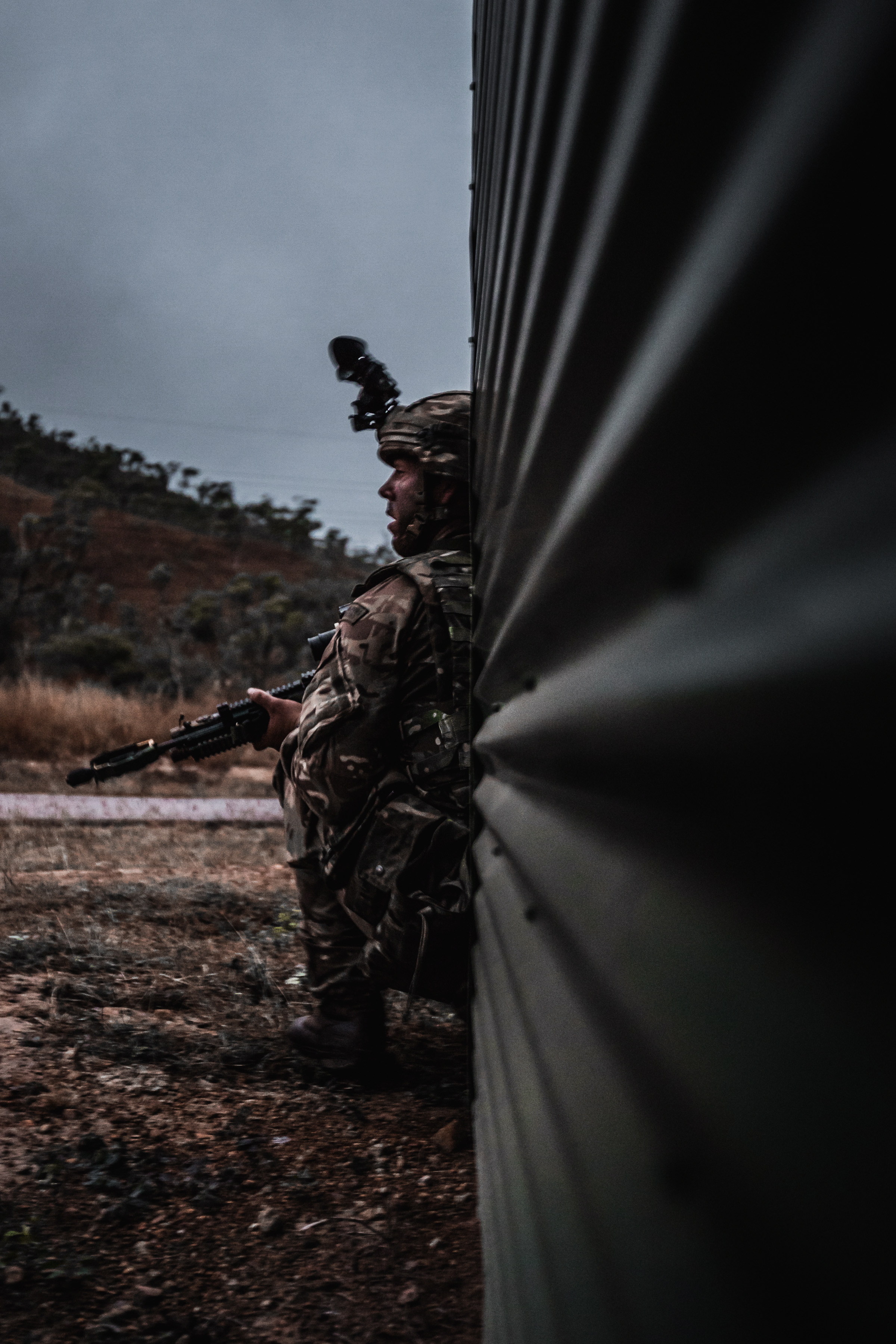 Royal Marines experiment in Australian outback