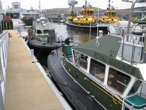 Royal Marines take delivery of new Island Class vessels