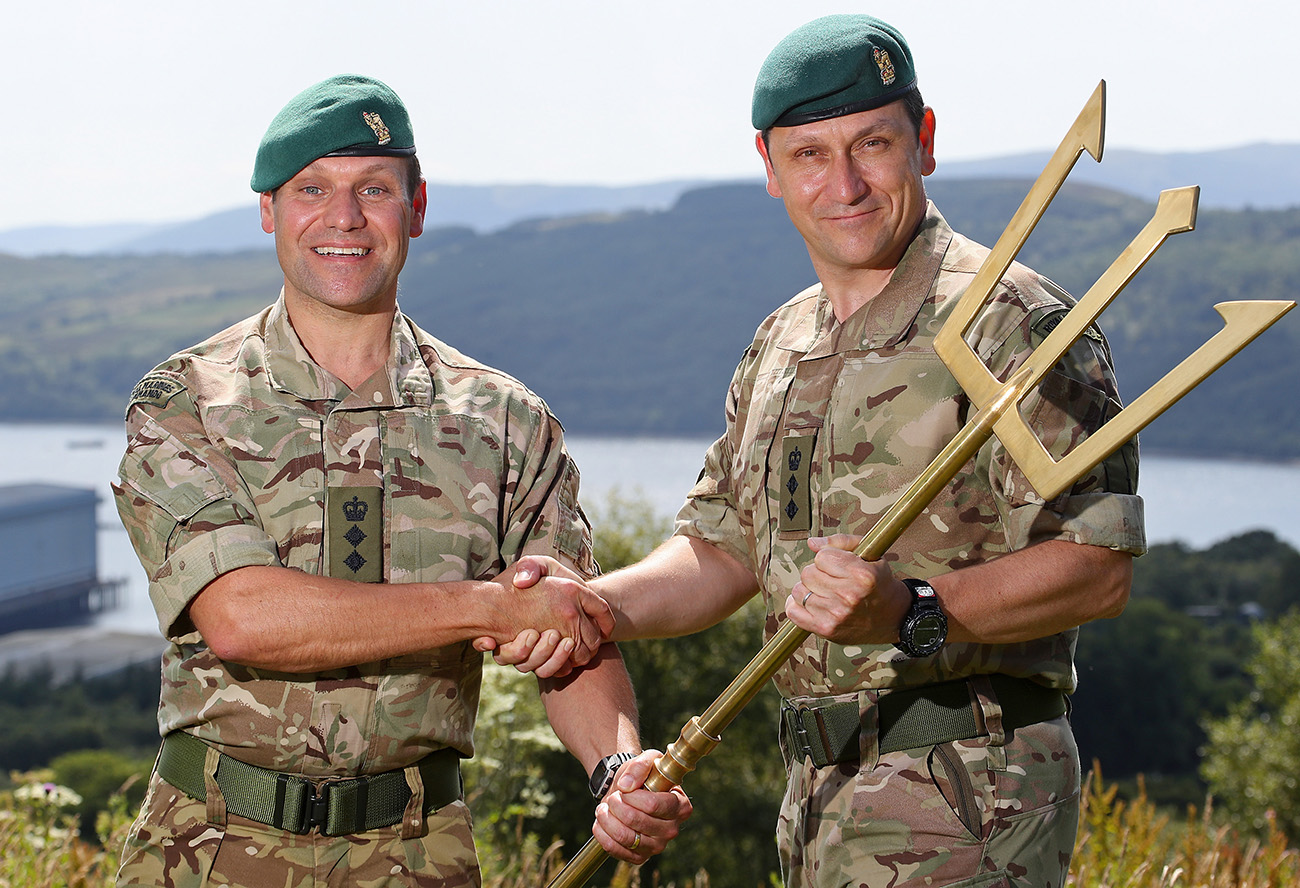 New Commanding Officer for Clyde based Royal Marine Commandos