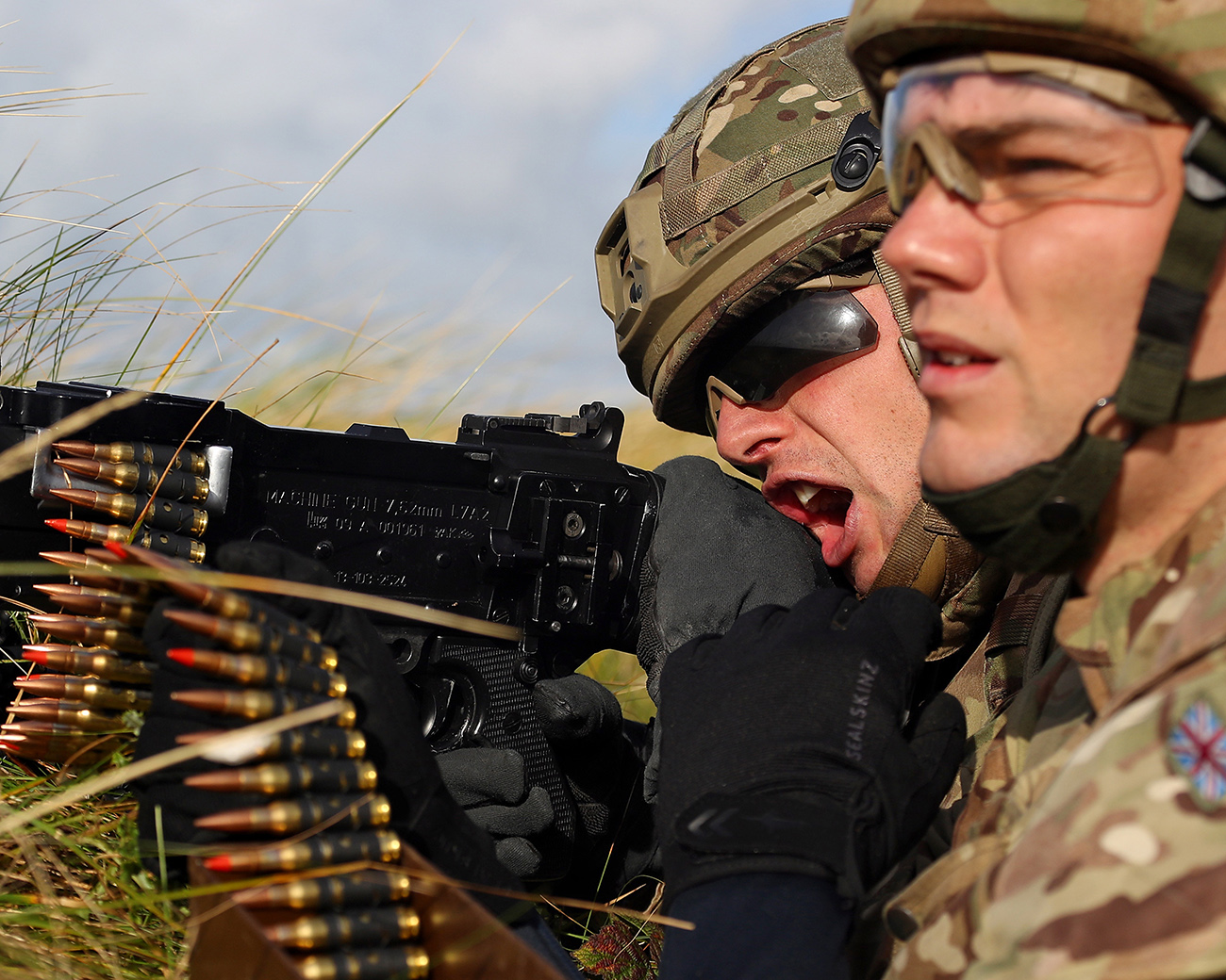 Fire and fury on the Welsh ranges from Royal Marines Nuclear guardians