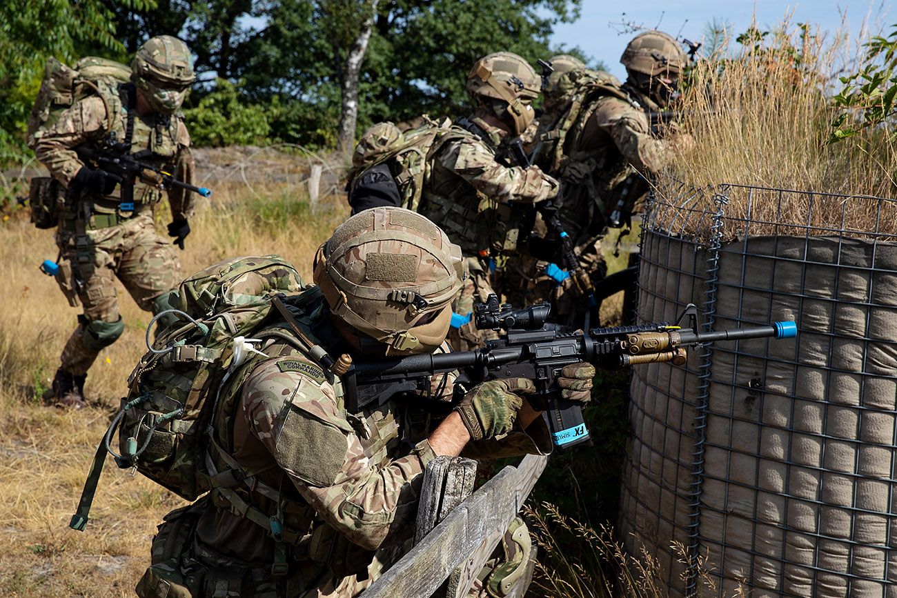 Commandos go Dutch to perfect defence of uk's ultimate weapon