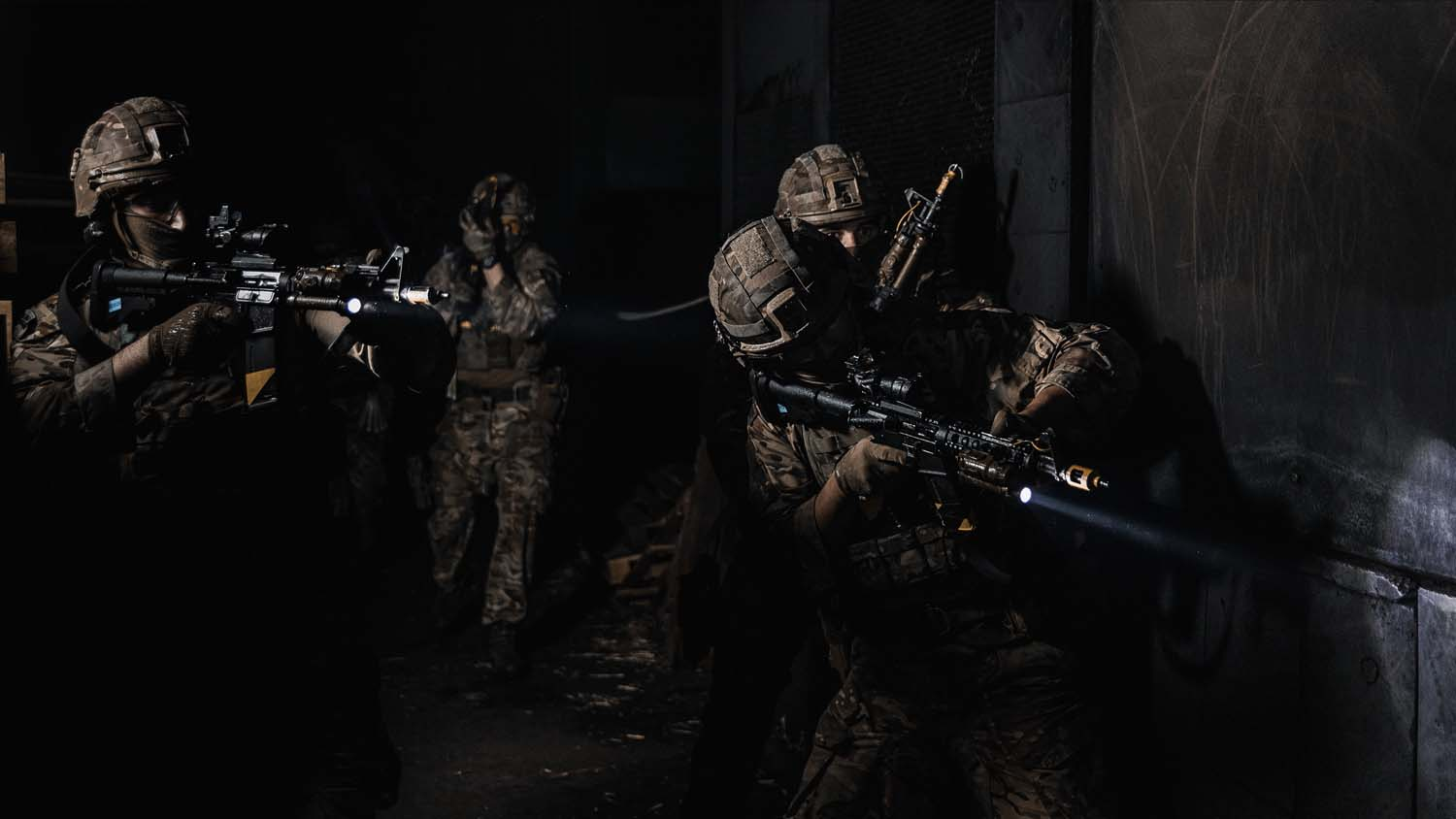Royal Marines of 43 Commando train in various environments to test their skills in protecting the UK's nuclear deterrent