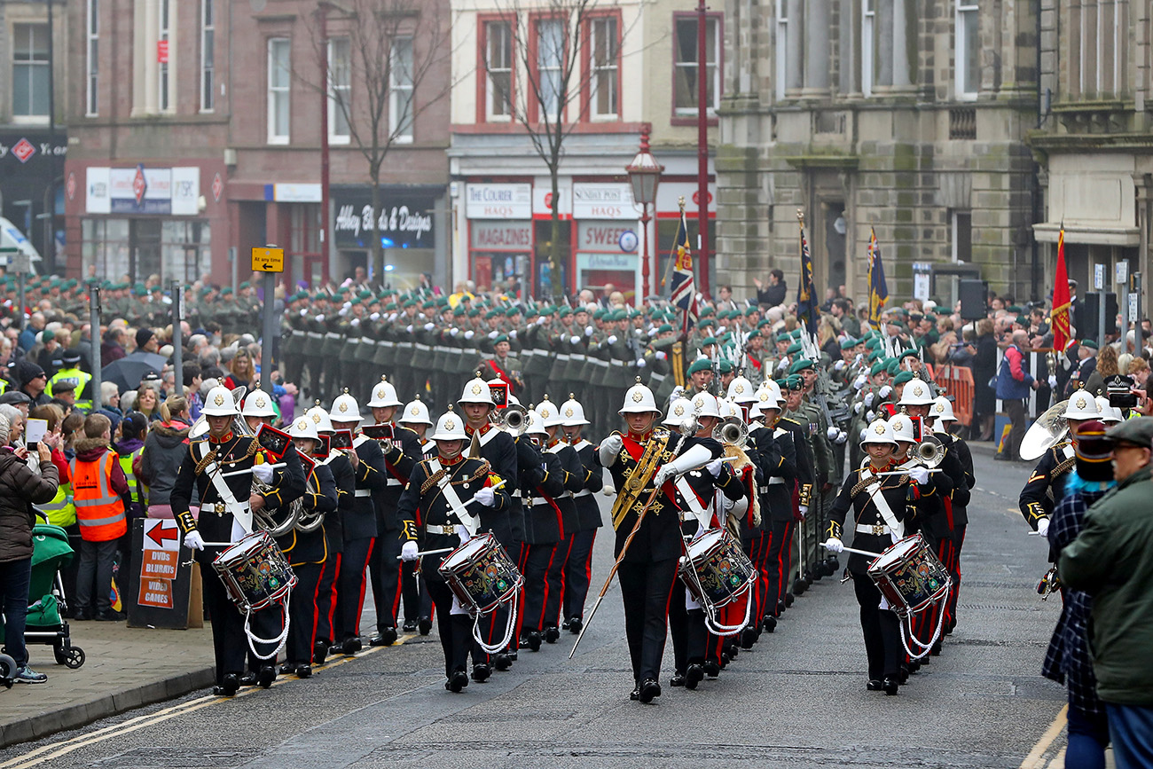 45 Commando and Arbroath celebrate 45 years of a proud, shared history