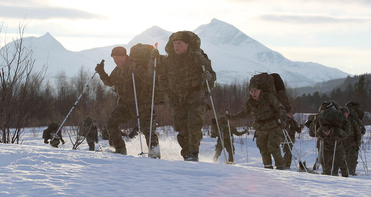 Marines relish Arctic role teaching Army and Americans cold war skills