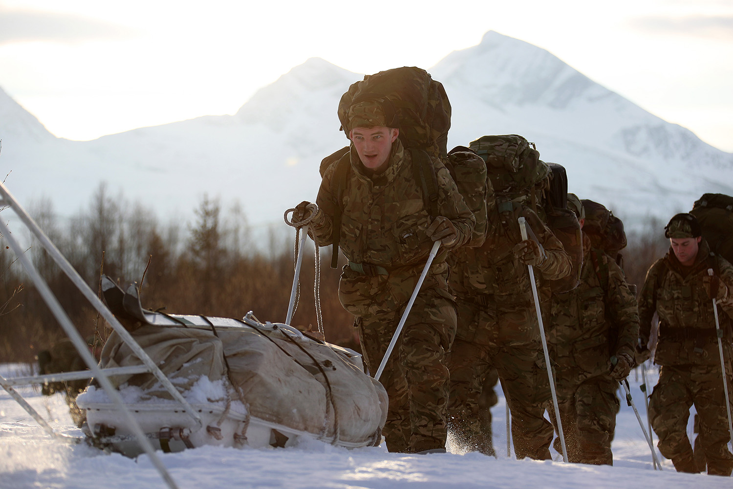 Marines relish Arctic role teaching Army and Americans cold