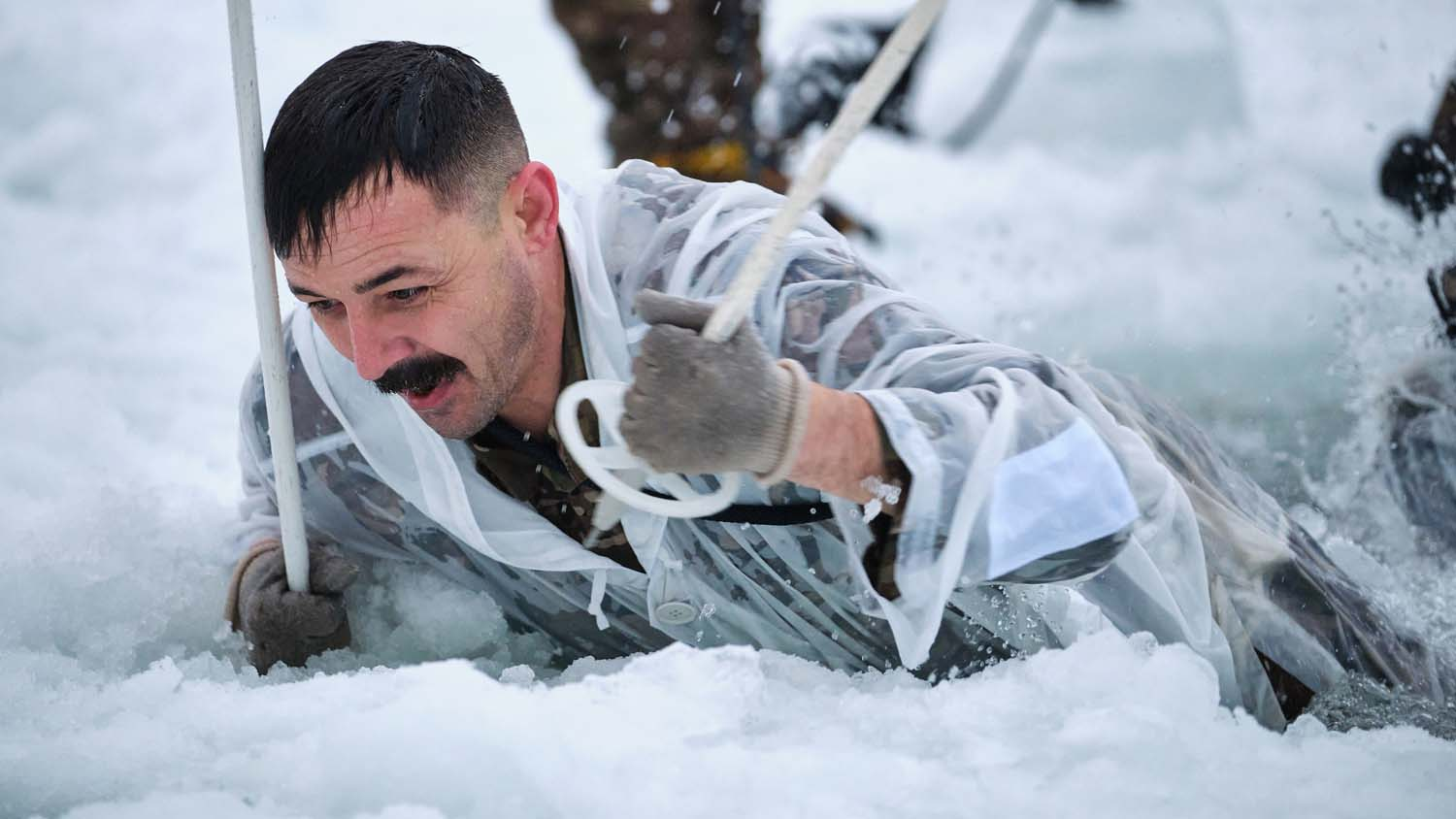Royal Marines head for the frozen Arctic