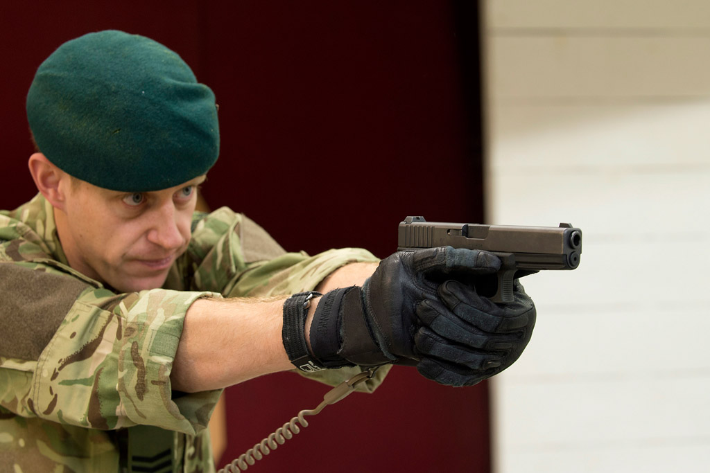 Navy and Royal Marines take aim with new pistols in £9m deal