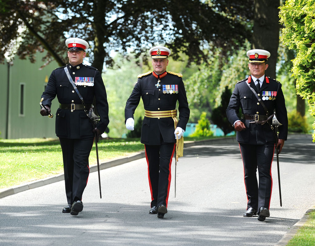 Ranks In Marine >> Commandant General Royal Marines Supersession | Royal Navy