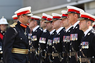 Supersession of Commandant General Royal Marines