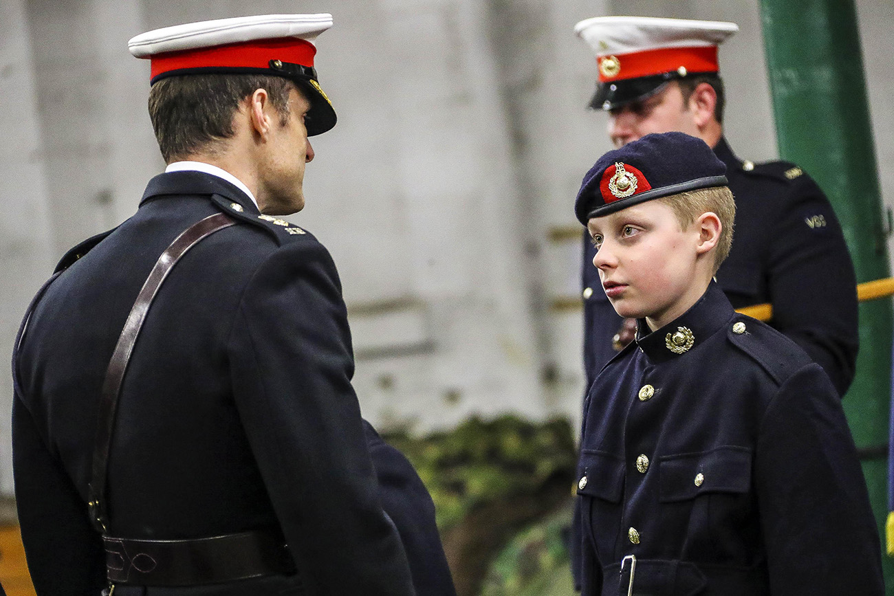 how to become a royal marine officer