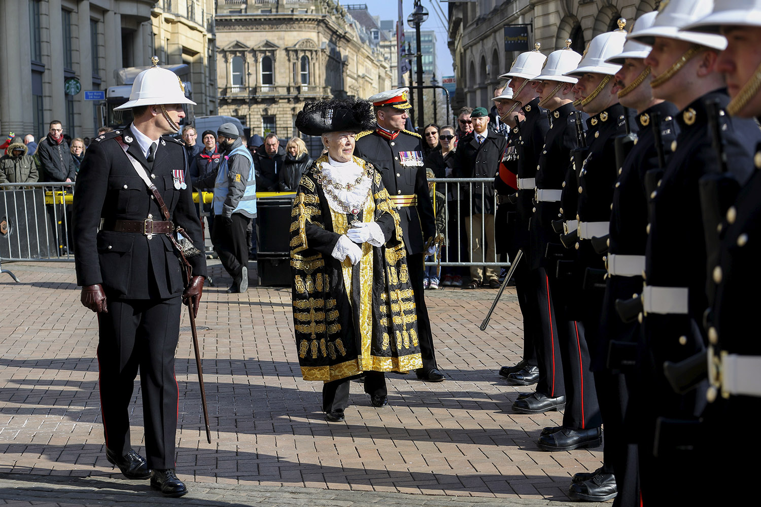 Birmingham bestows special honour on the Royal Marines