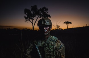 Exercise Talisman Sabre in Australia. Picture: LCpl James Clarke