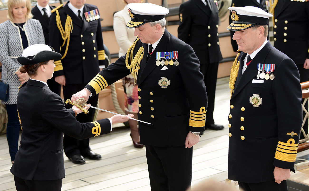Admiral Sir Philip Jones takes over as First Sea Lord