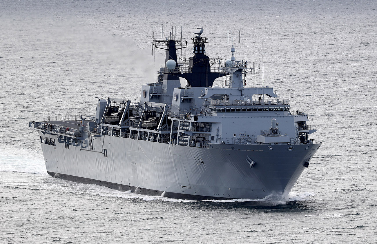 HMS Albion to lead NATO task group
