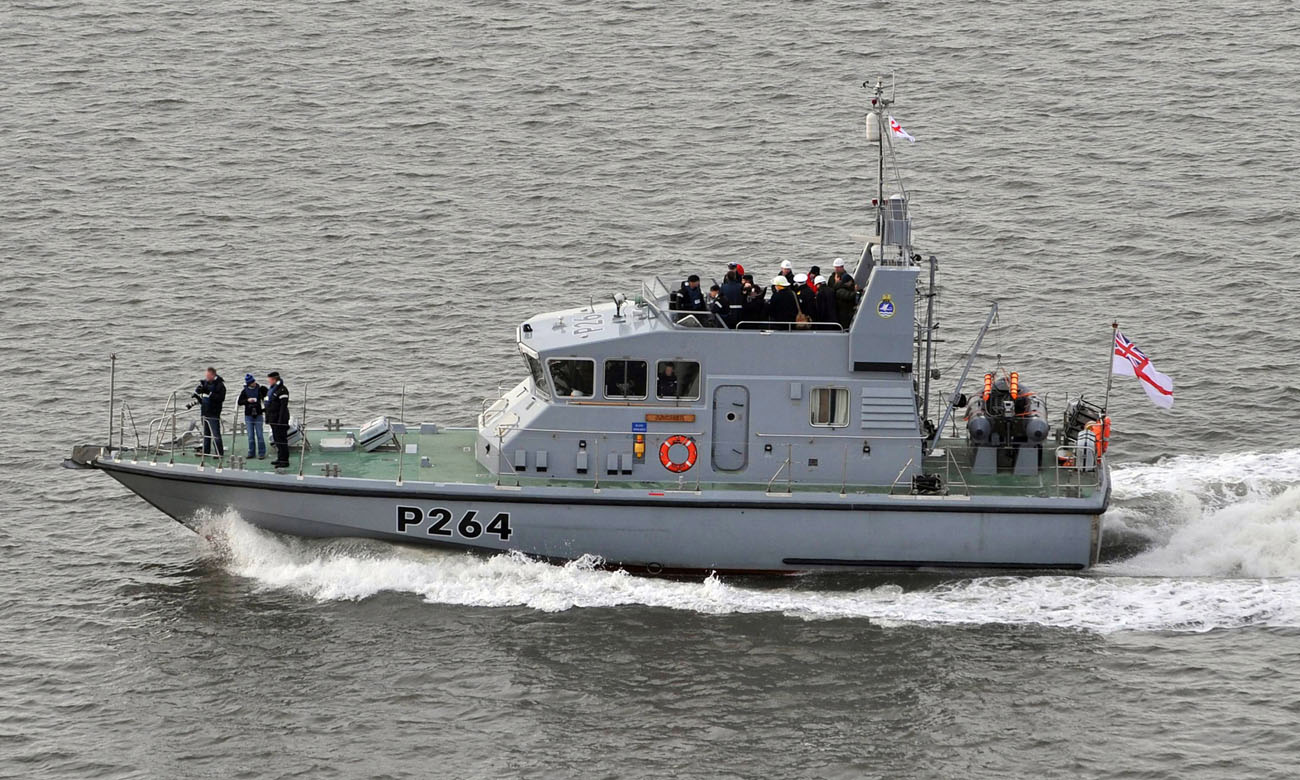 HMS Archer returns to the water after  capability boost