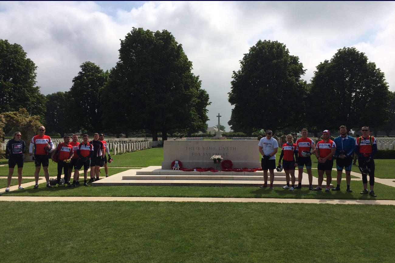 Atherstone crew pay tribute to D-Day fallen