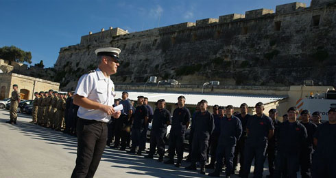 Interaction with Maltese Armed Forces
