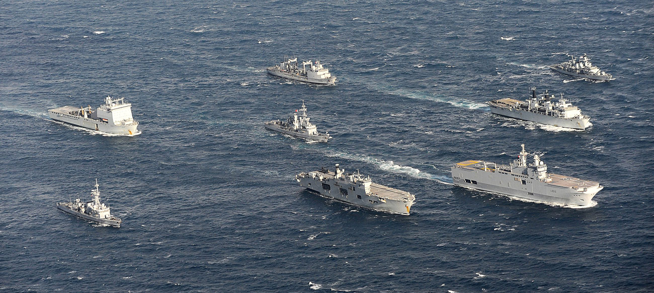 Huge Uk Based Anglo French Exercise Comes To An End Royal Navy