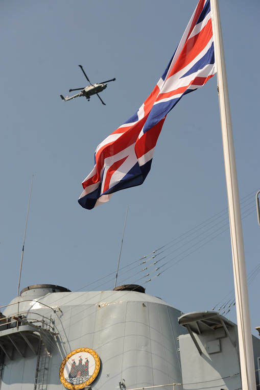 Proud era ends as the Navy's last Type 42 destroyer, HMS Edinburgh, bows out