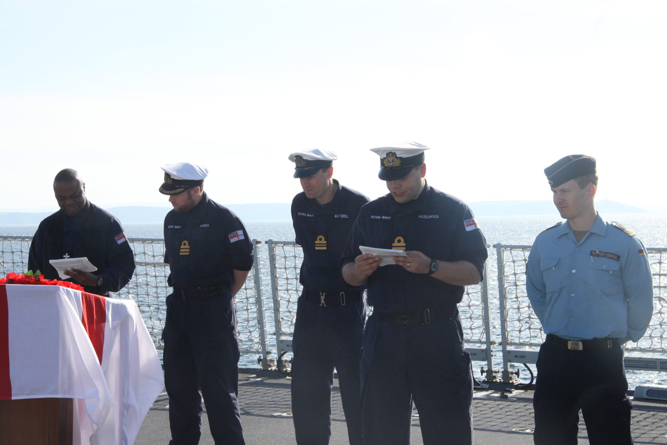 Diamond commemorates anniversary of Battle of Jutland
