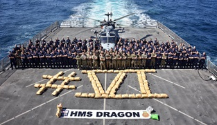 HMS Dragon drugs bust 6
