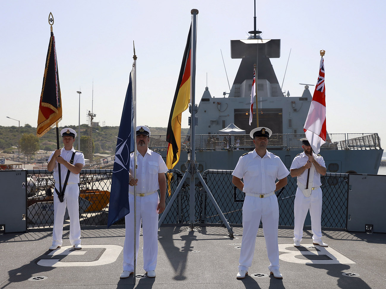Royal Navy to command two NATO forces