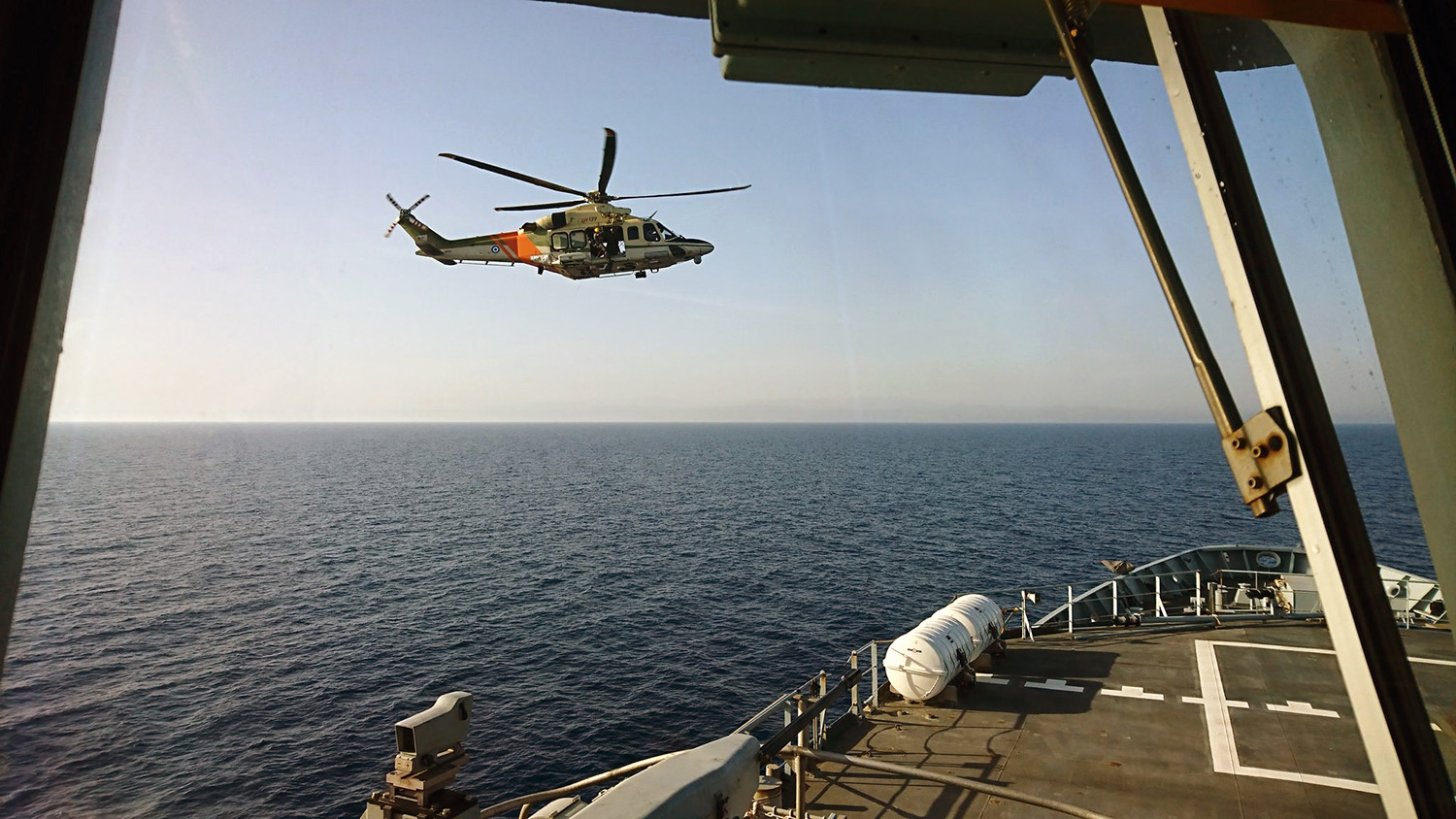 Echo's expert rescuers help Cyprus forces prepare for disaster at sea