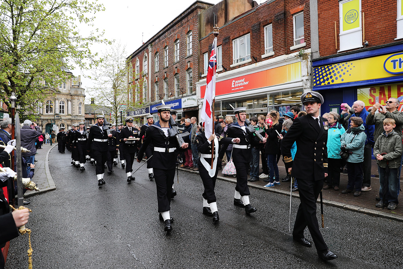 Tiverton turns out for Enterprise Freedom Parade