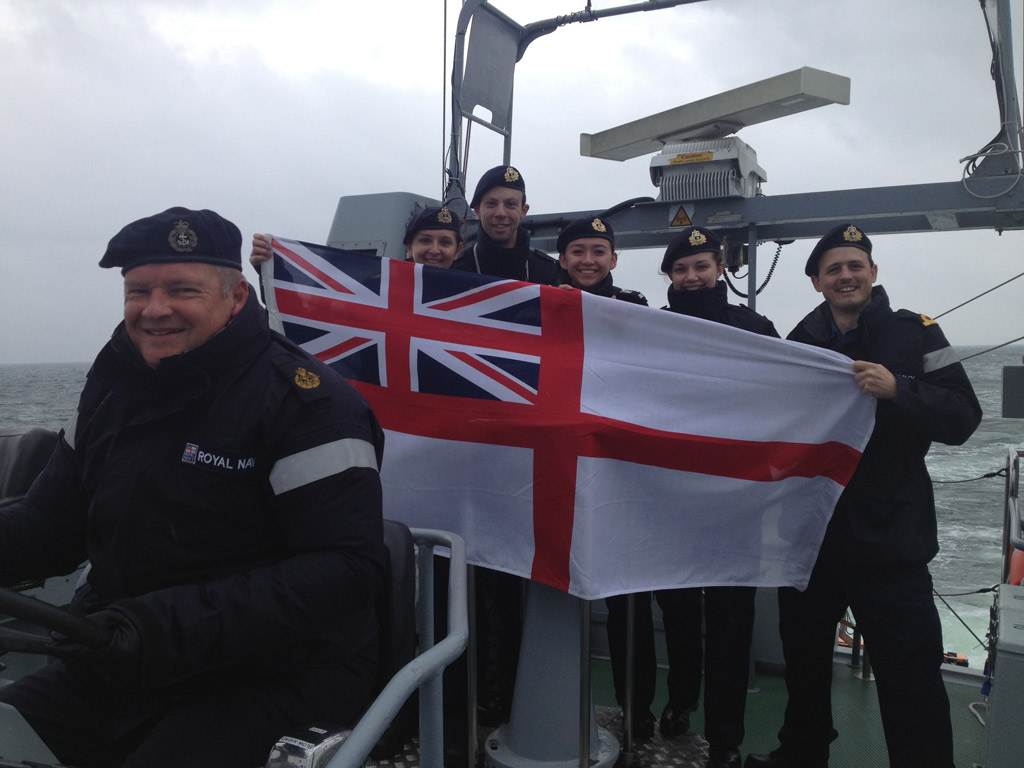 Explorer pays her respects to Navy's Napoleonic heroes