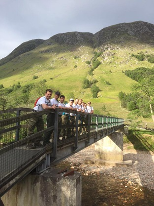 HMS Hurworth's sailors tackle 24-hour mountain challenge