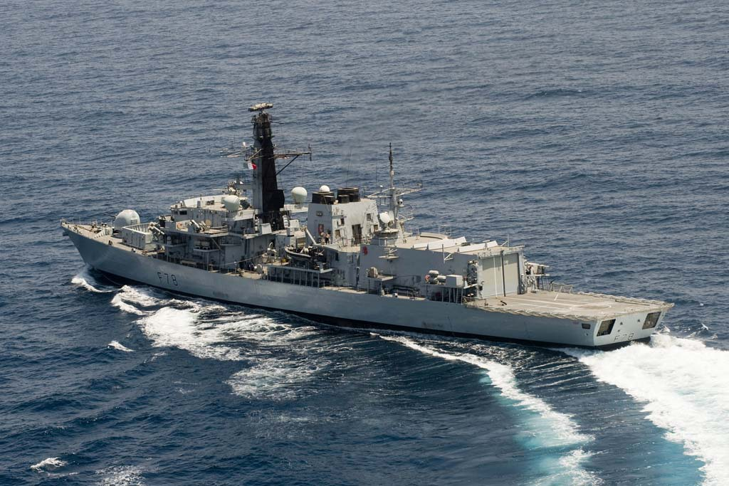 Royal Navy goodwill visit to Tripoli