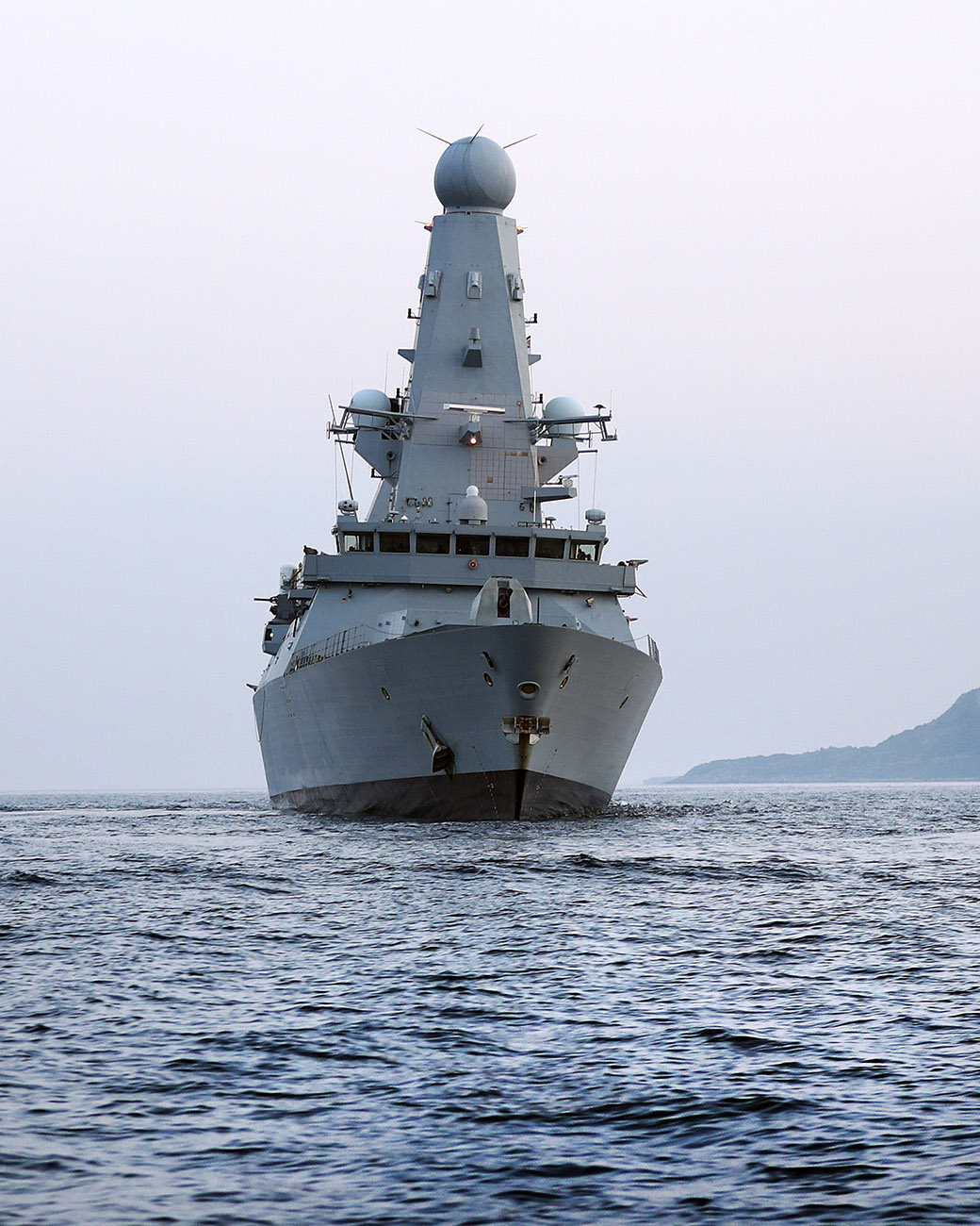 Upgraded warships preparing for operations
