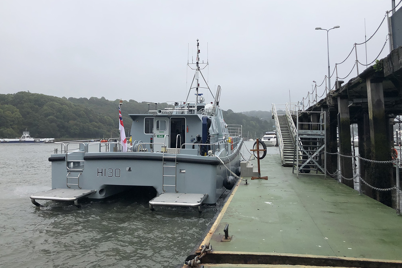 New survey ship Magpie debuts on the Dart