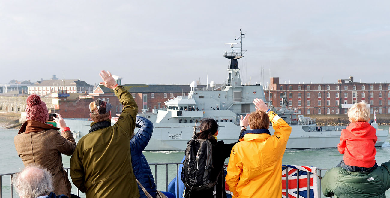 HMS Mersey deploys to North Atlantic