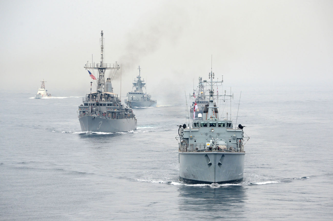 HMS Middleton's crew returns home from Gulf deployment