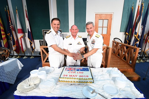 Prince of Wales' first CO takes on terrorism in Indian Ocean
