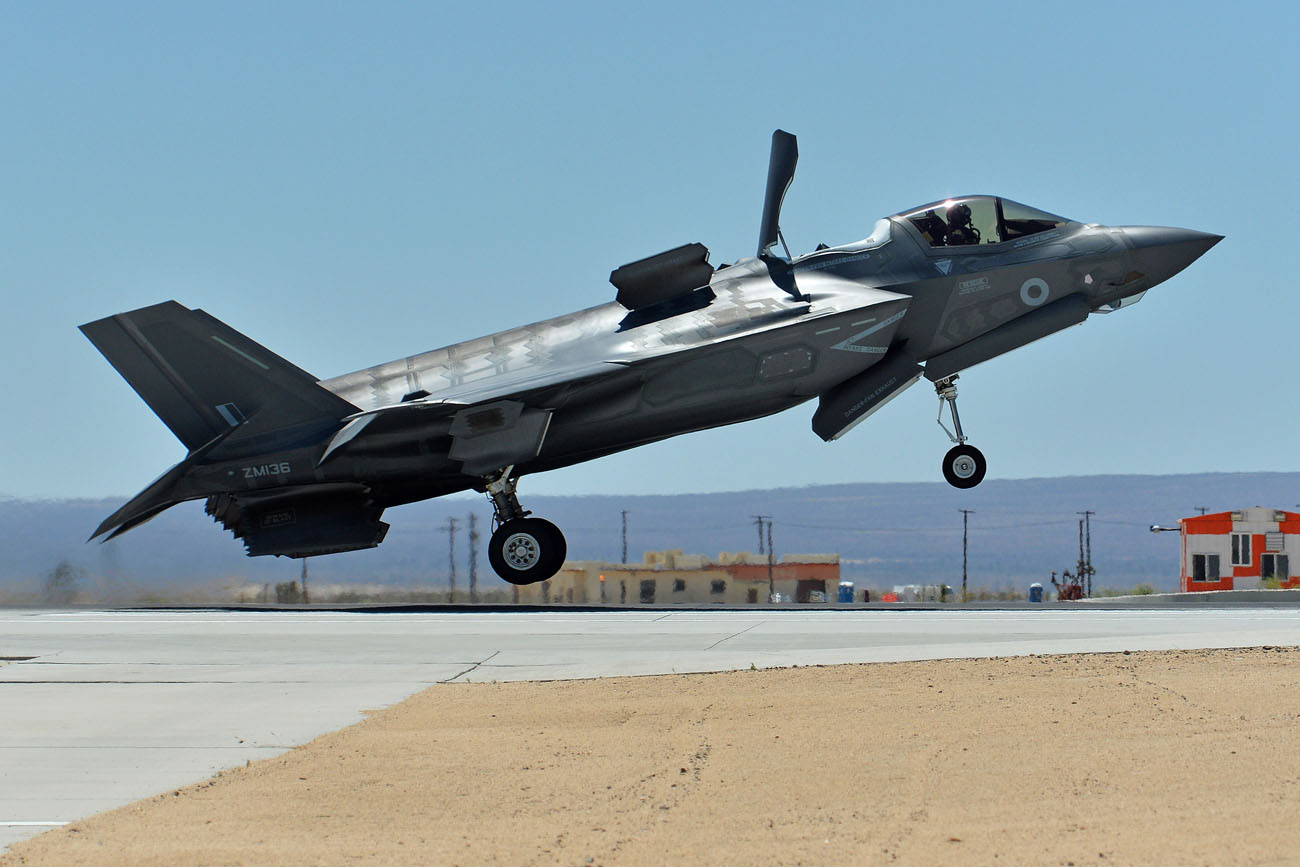 Navy's new jet fighter to make UK debut