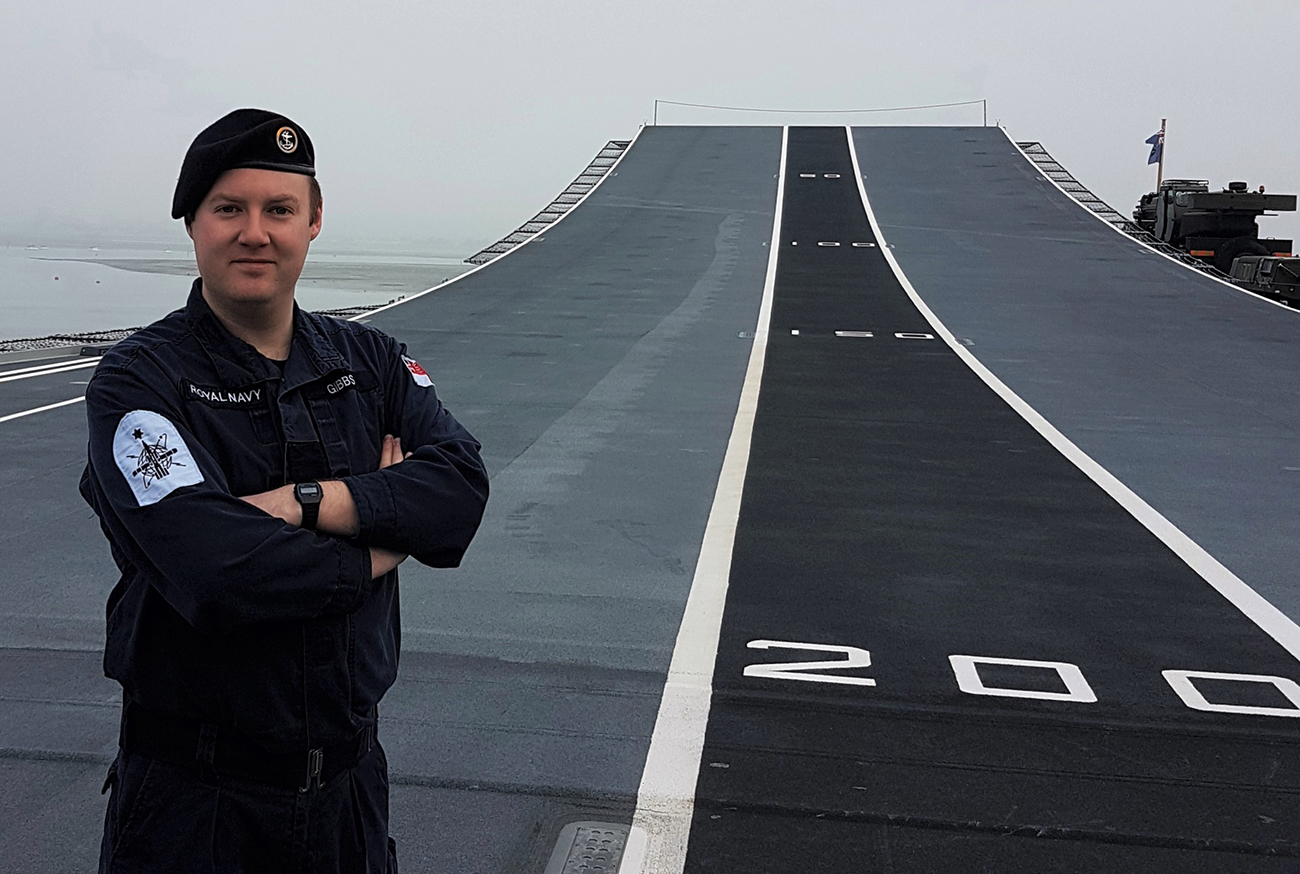 Royal Navy weapons engineer wins top innovation award