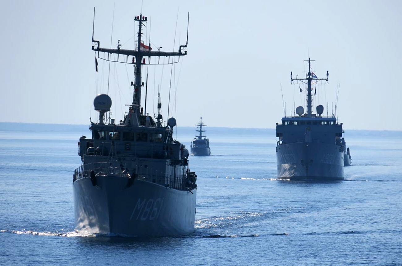 HMS Ramsey joins NATO Task Force