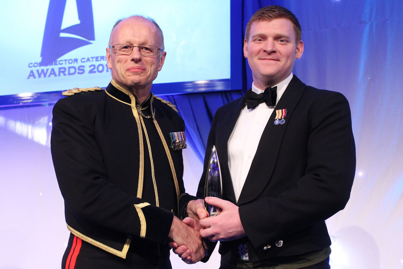 HMS Richmond Petty Officer wins Caterer of the Year