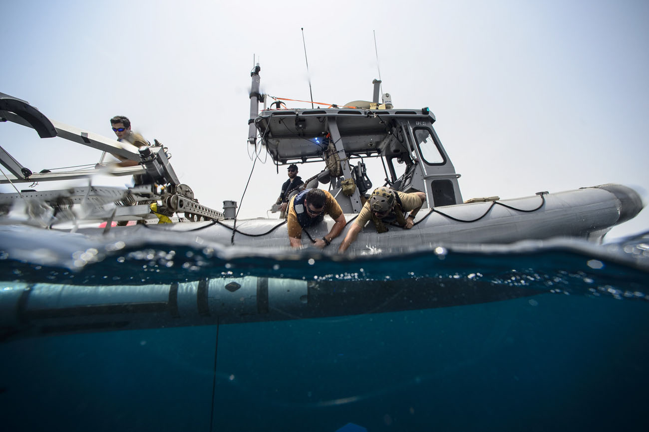 Minehunter Task Group puts autonomous systems to the test