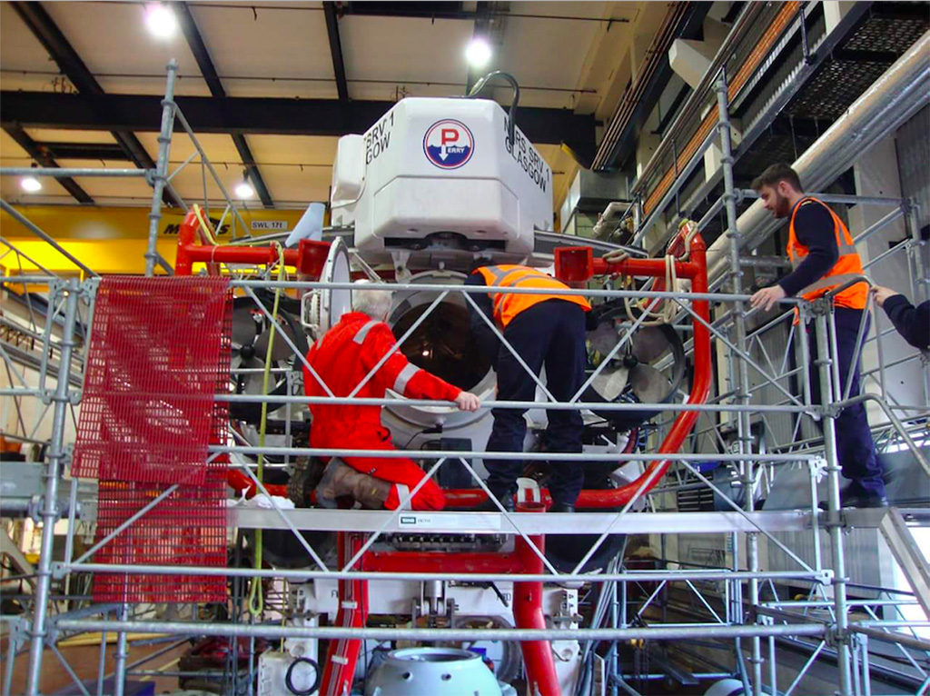 Oxford URNU visits NATO Submarine Rescue System